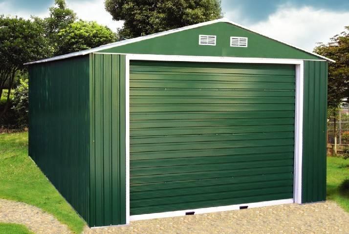 Металлопрофильный гараж