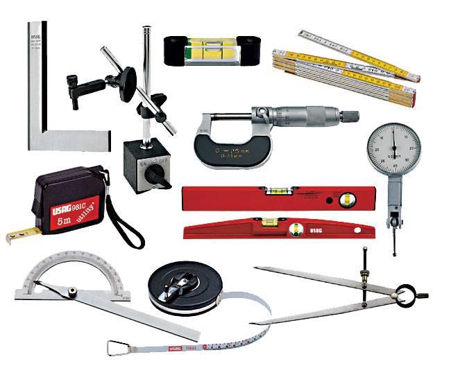 Измерительные инструменты для работы