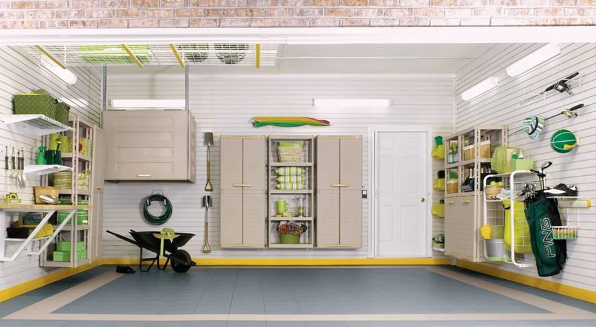 Обустройство помещения гаража