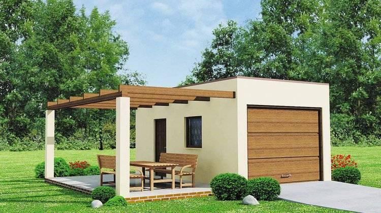 3Д модель гаража