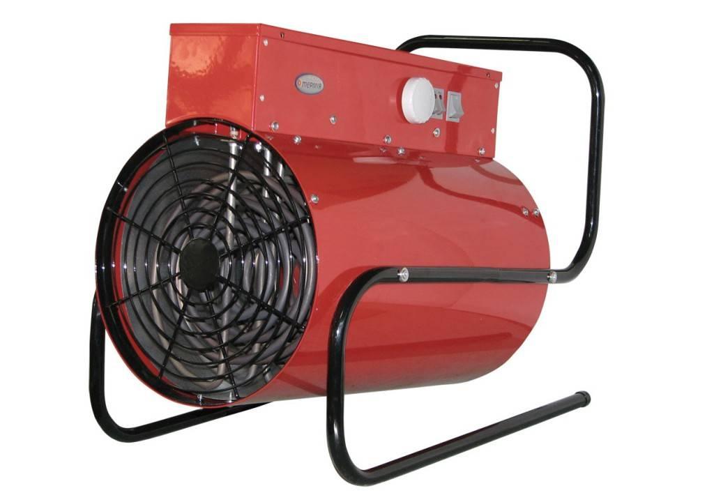 Вздушное отопление гаражей