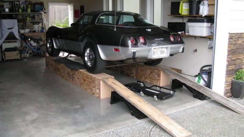 Эстакада в гараже