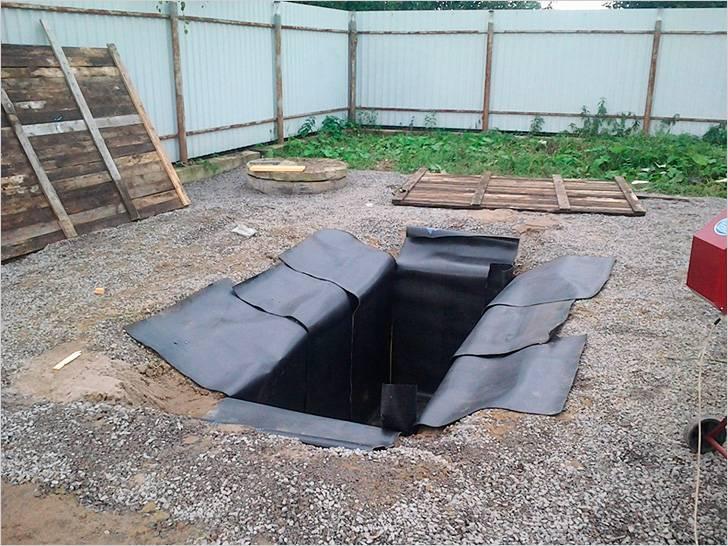 Изоляция смотровой ямы