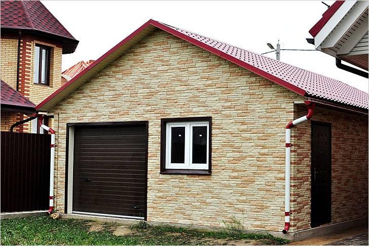 Построенный капитальный гараж