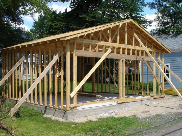 Построить гараж 6х6