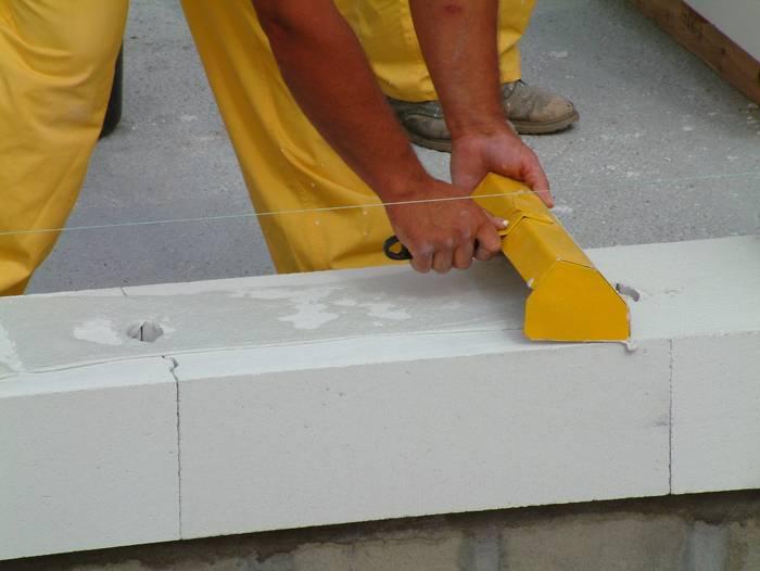 Как сделать газосиликатных блоков 71