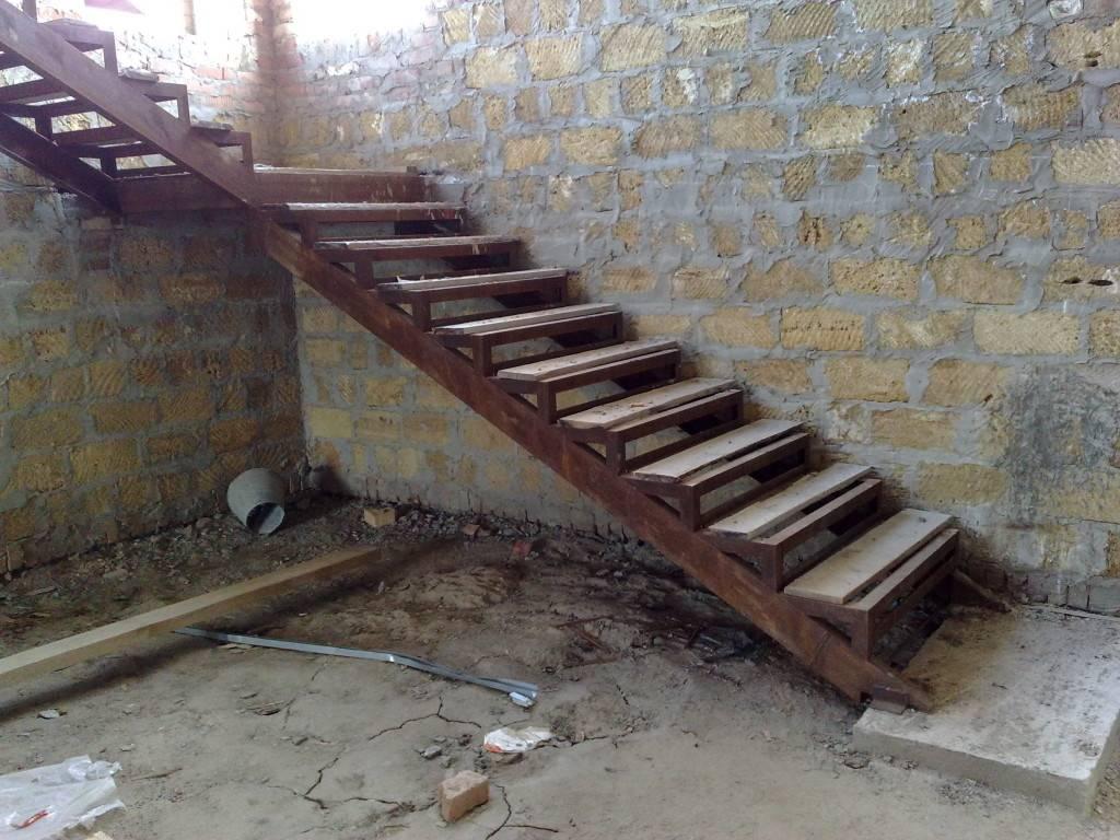 Как сварить железную лестницу