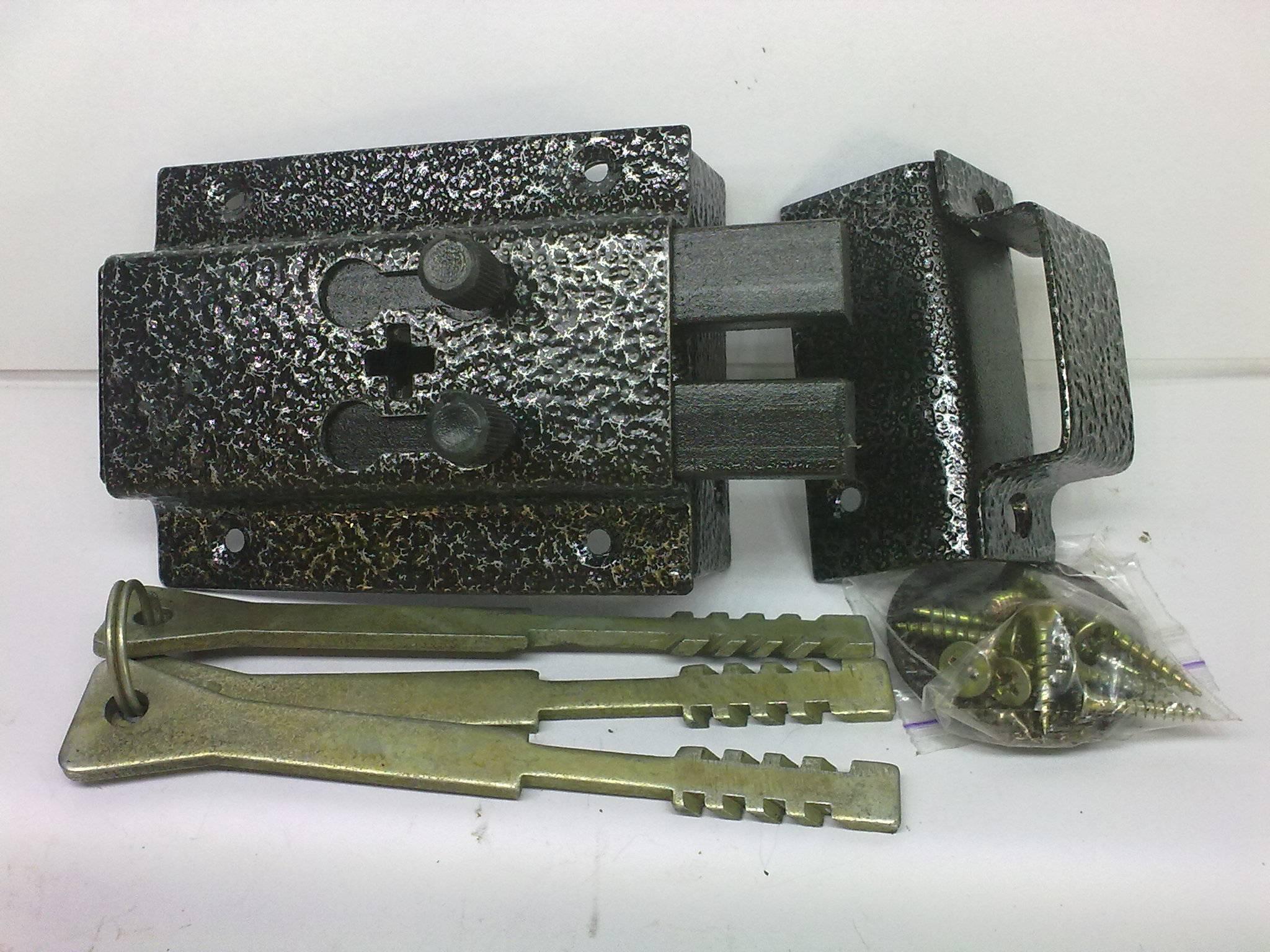 Комплект реечного замка