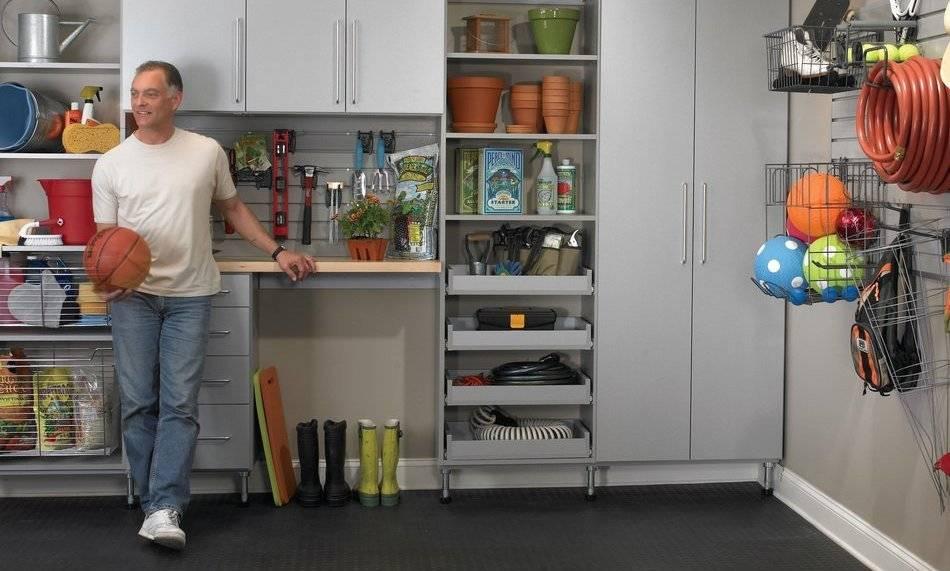 Идеи для обустройства гаража своими руками