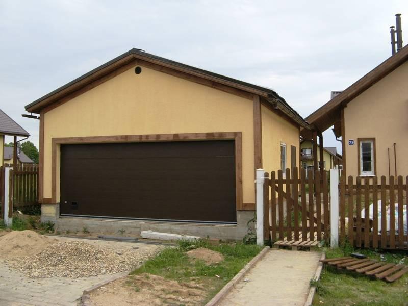 Планировка гаража 6 6