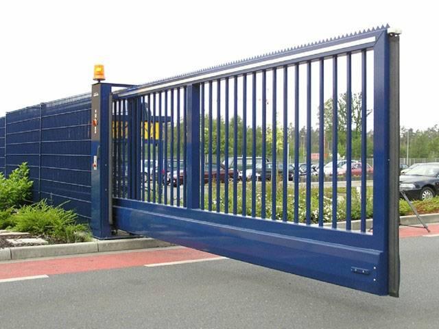 Прозрачное полотно ворот