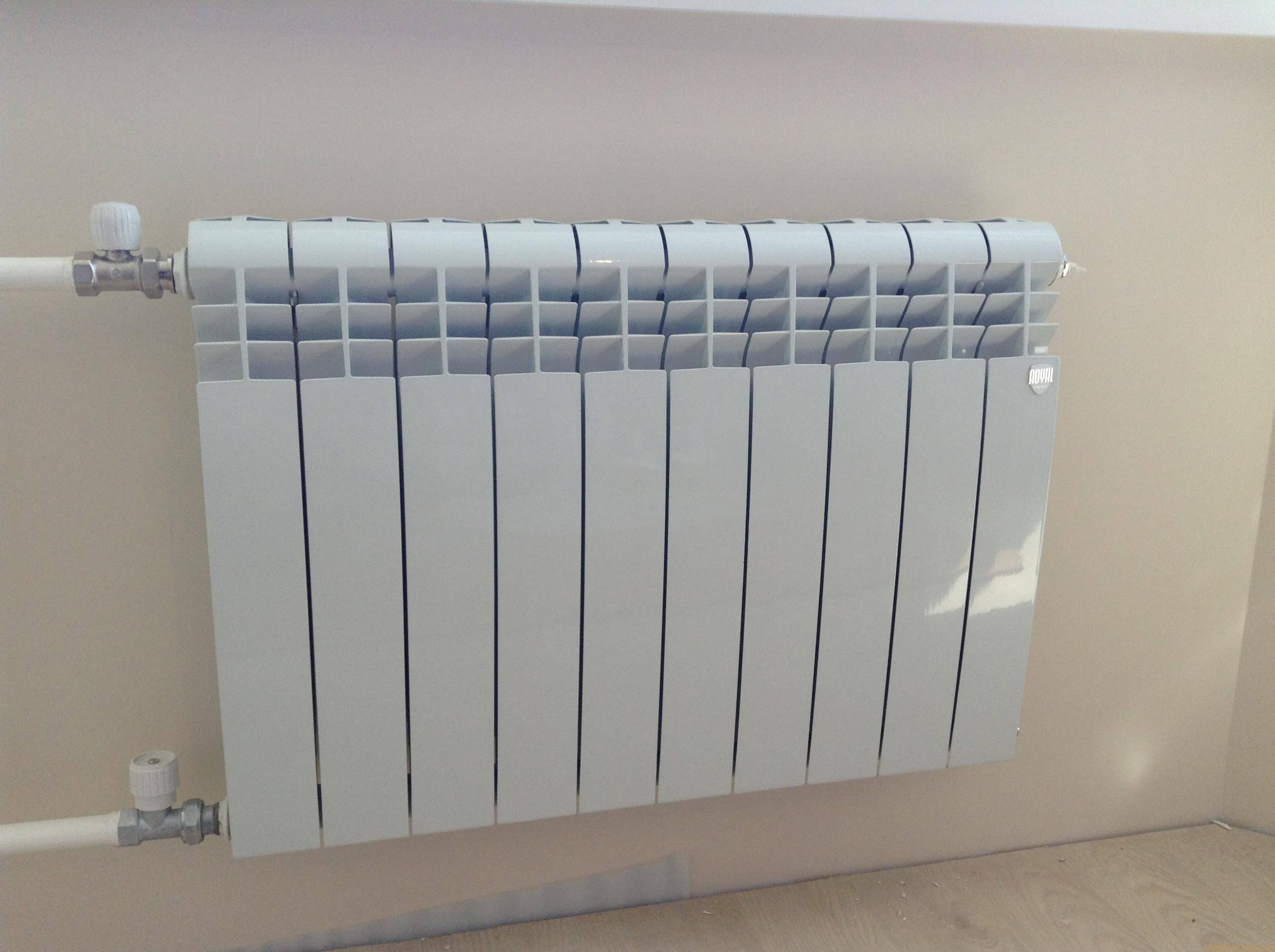 Покупной радиатор