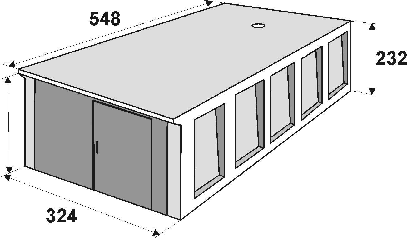 Сборный гараж