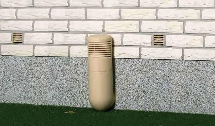 В подвале должен быть постоянный приток свежего воздуха