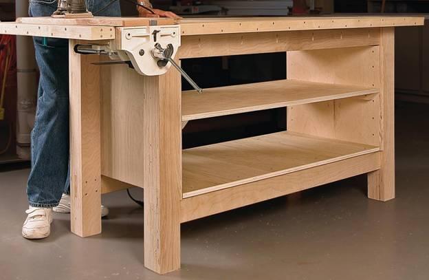Конструкцию из дерева легко сделать своими руками