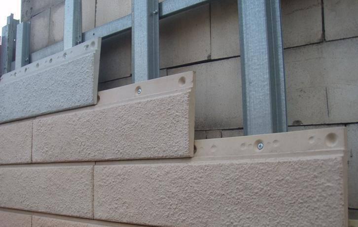 Монтаж цементного сайдинга очень прост