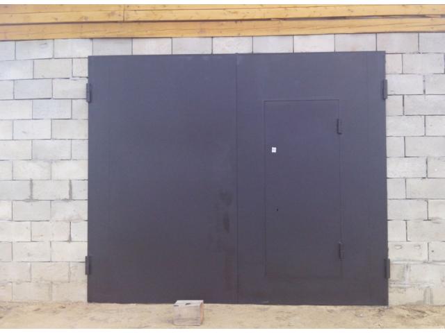 ремонт гаражных ворот быстро своими руками