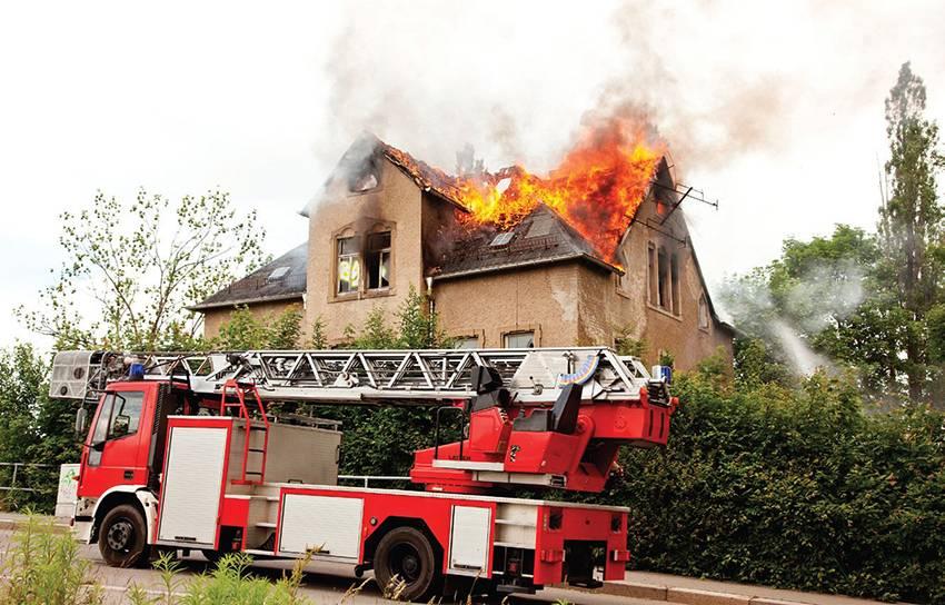 Существуют определенные нормы пожароопасности стройматериалов