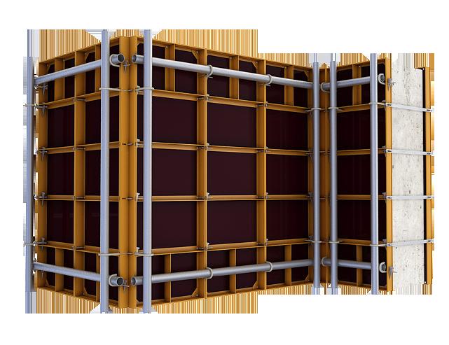 Конструкция опалубки для стен