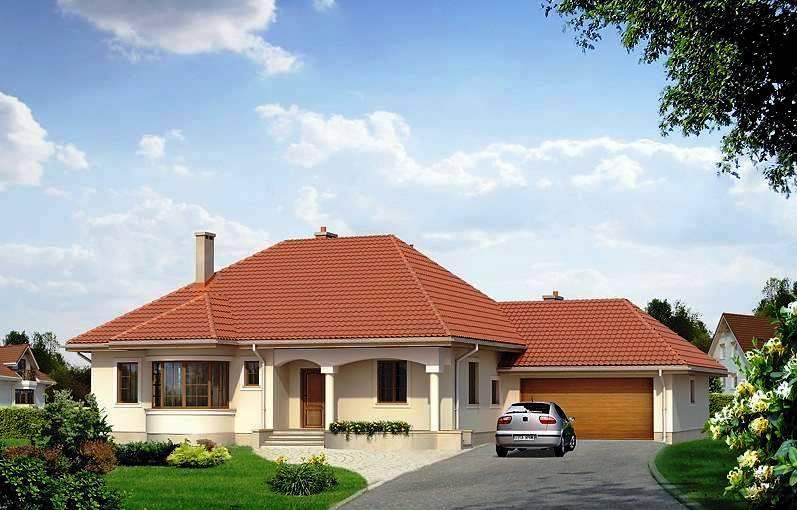 Дом практичный и красивый