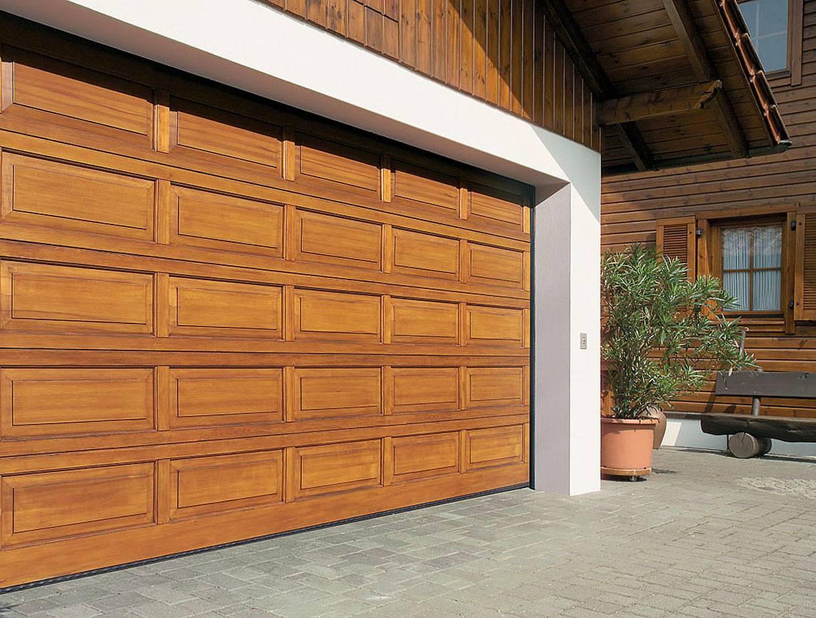 Двери для гаража имеют стандартный размер