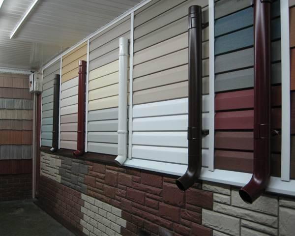 Отделать фасад можно выгодным и долговечным сайдингом